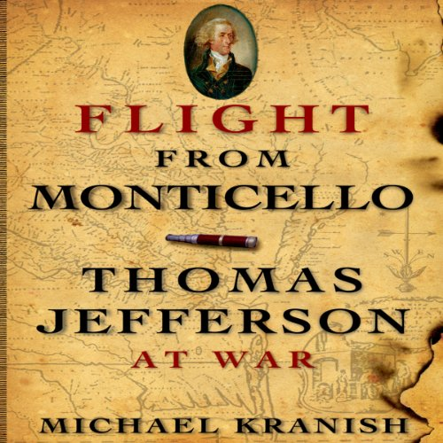 Flight from Monticello audiobook cover art