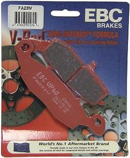 EBC Brakes FA231V Semi Sintered Disc Brake Pad, Black, One-Size