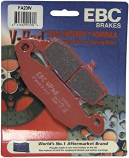 EBC Brakes FA231V Semi Sintered Disc Brake Pad