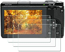 ZLMC Ricoh GR III screen protector, 9H hardness 0.3mm ultra-thin tempered glass screen protector for Ricoh GR III digital ...