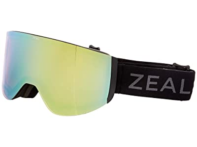 Zeal Optics Hatchet (Dark Night w/ Alchemy Mirror + Persimmon Sky Blue Lens) Snow Goggles
