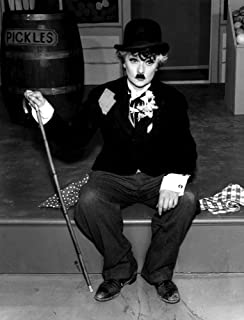 Lucille Ball dressed as Charlie Chaplin Photo Print (8 x 10)