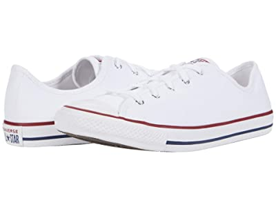 Converse Chuck Taylor All Star Dainty GS Basic Canvas Ox (White/White/Black) Women