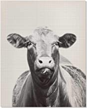 Black and White Cow Photography, Farm Animal Nursery, Cattle Photography, Animal Print Nursery, Farmhouse Wall Decor, Black and White Cow Art, Animal Photography, Vintage Animal Picture, 8x10