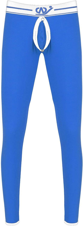 renvena Mens Base Layer Thermal Long Johns Pants Underpants Open Front Fleece Lined Leggings Trousers