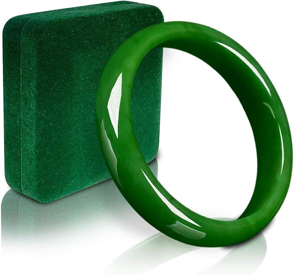 Jade Trust Bracelet Bangle for specialty shop Jadeite Green Women Fortune