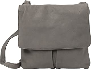 Ava Leather Flapover Crossbody Bag
