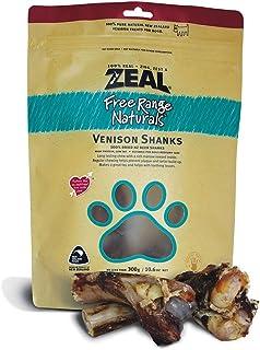 Zeal Free Range Natural Venison Shanks 2pcs Dog Treats 300g