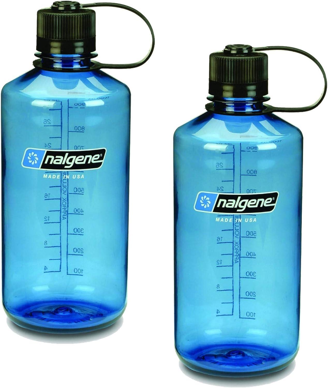 Nalgene schmal Mund 1Qt Everyday Wasser Flasche–2Pack