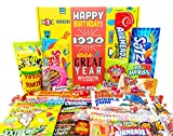Woodstock Candy 30th Birthday Gifts for Women and Men - Vintage 1990 Assorted Candy for Him or Her - Dirty Thirty Snack Pack for 30 Year Old Man and Woman - Nostalgic Childhood Candy Present Box