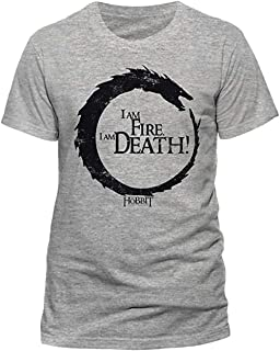 The Hobbit I Am Fire I Am Death T-Shirt Battle The Five Armies
