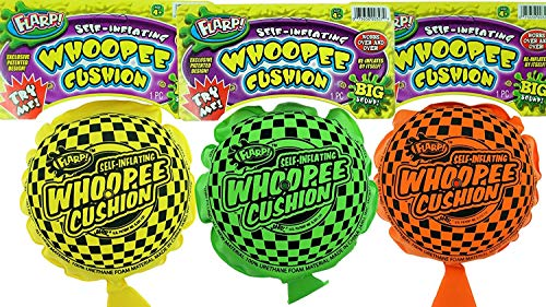 Auto-inflatable Whoope Cushion