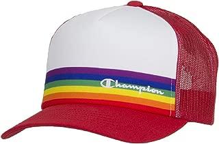Men's Rainbow Pride Mesh Trucker Adjustable Snapback Hat