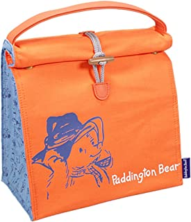 Genuine Paddington Bear Marmalade Sandwich Insulated Cotton Lunch Bag Box