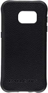 Galaxy S7 Case, Ballistic [Urbanite Select] Six-Sided Drop Protection [Black w/Buffalo Leather] 6ft Drop Test Certified Ca...