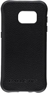Ballistic, Galaxy S7 Case [Urbanite Select] 6ft Drop Tested Case Protection [Black w/Buffalo Leather] with Design/Pattern Cell Phone Case for Samsung Galaxy S7 - Black w/Buffalo Leather
