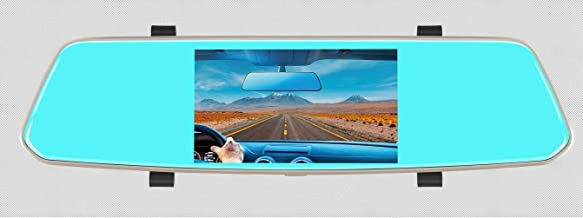 1080P, 5 inches Rearview DVR, with Dual Camera, HD resolution, Mirror function and night vision