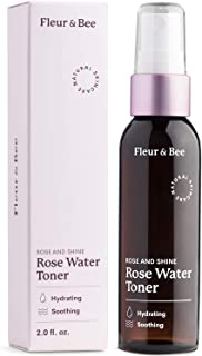 Rosewater Toner | Natural, 100% Vegan & Cruelty Free | Hydrating Rose Water Spray Mist | Alcohol Free | Dermatologist Test...