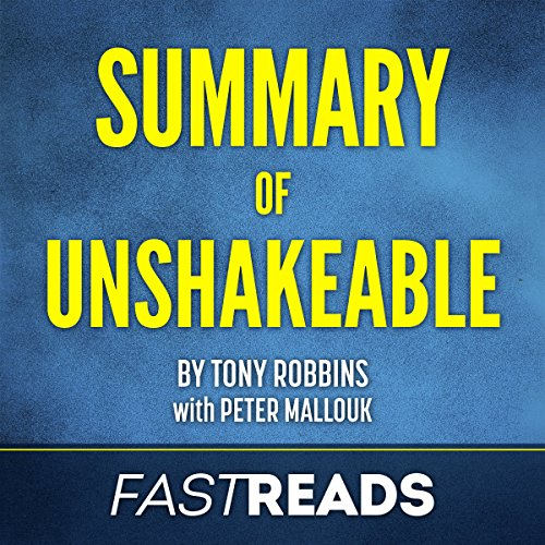 Summary of Unshakeable by Tony Robbins audiobook cover art