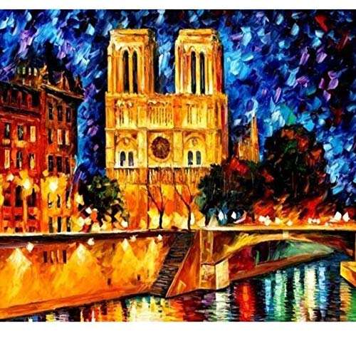 Velero Diy Pintura Moderna Digital Paisaje Pintura Digital Wall Art Lienzo Decoración Del Hogar 50x65cm
