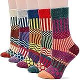 Field4U Women's Wool Knit Winter Socks