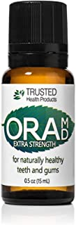 OraMD Extra Strength – For the Discomfort of Canker Sores – Superior Toothpaste and Mouthwash Alternative – 100% Pure Essential Oils – Dentist Recommended for Over 15 Years