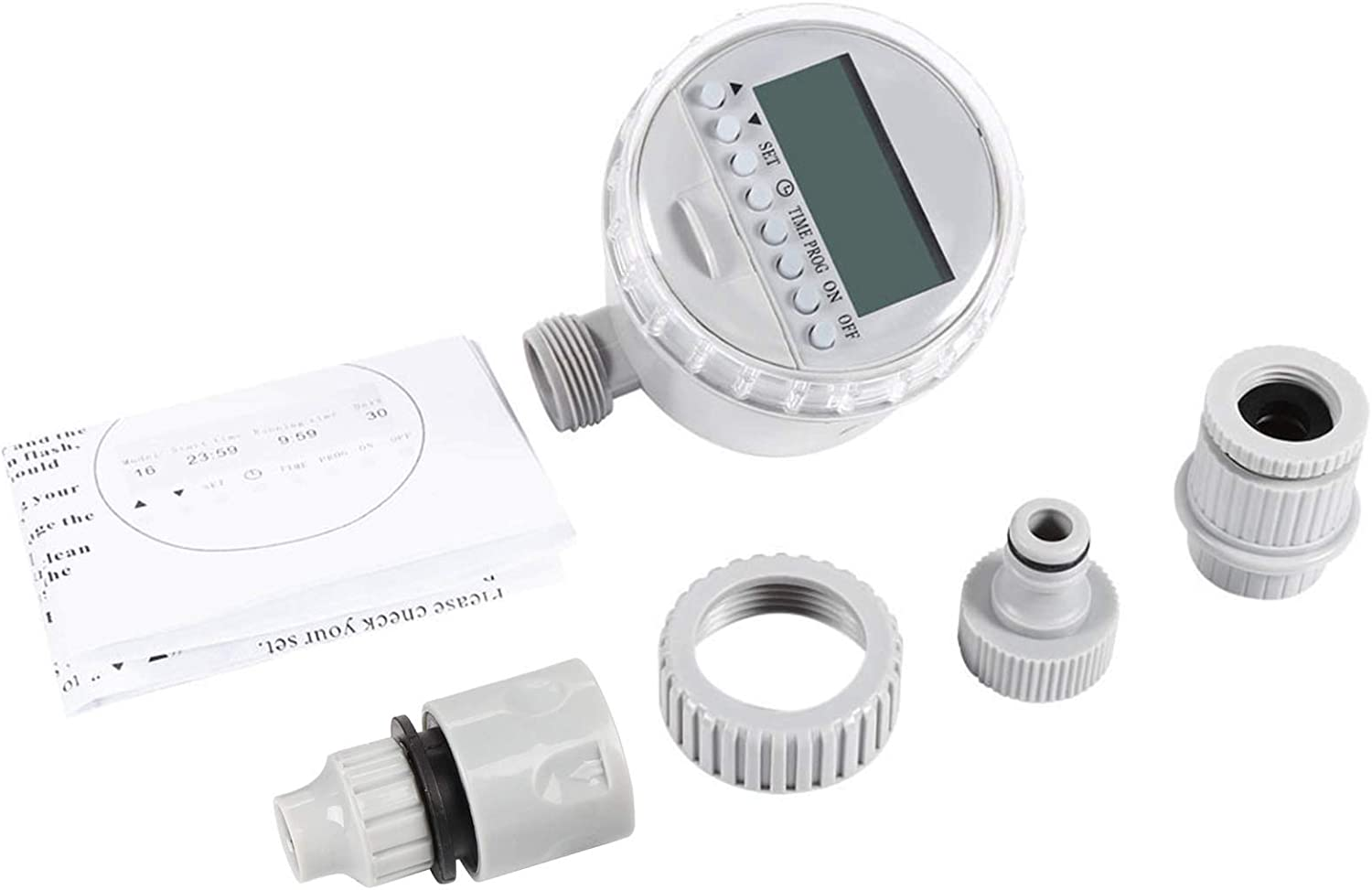 Product Solar Power Auto Water Saving Controller Dig with Fashion LCD Irrigation