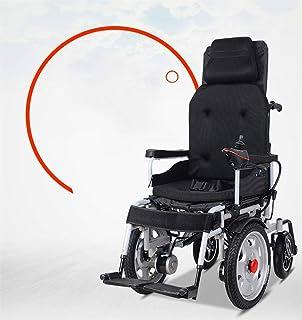 Sillas de ruedas eléctricas para adultos Silla de ruedas silla de ruedas, silla de rehabilitación médica for la tercera edad, ancianos, discapacitados Energía Eléctrica - plegable Powerchair Pesado Si