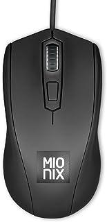 Mionix AVIOR Black Gaming Mouse Negro ratón