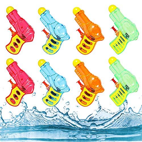 FANDE Pistola ad Acqua Piccola, Pistola ad Acqua per Bambini Adulti, Pistola ad Acqua Adatto per Bambini Regalo e di Compleanno, Estivo All'aperto (colore casuale)