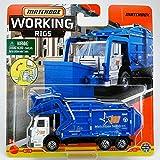 Matchbox Garbage King XL, Working Rigs 9/16 [Blue]