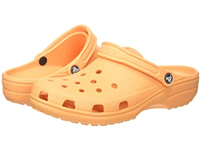 Crocs Classic Clog (Cantaloupe) Clog Shoes