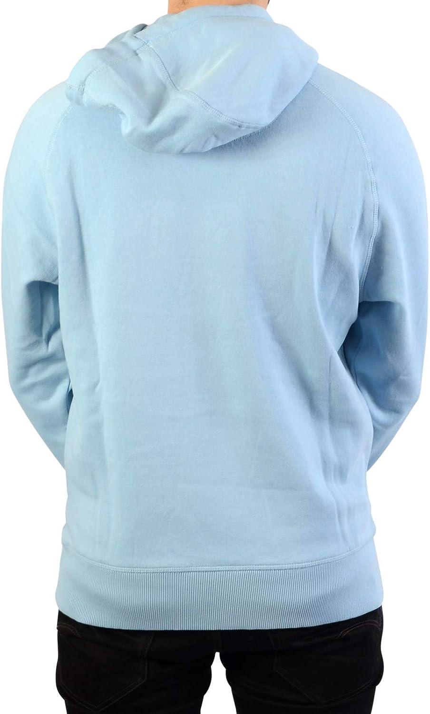 ellesse Sweat à Capuche uni Bleu Blanc