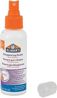 Elmer's Adhesive Spray, 8 Oz. Disappearing Purple (E464TR)