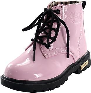 Chiximaxu Fashion Girls Boys PU Waterproof Child Ankle Boots