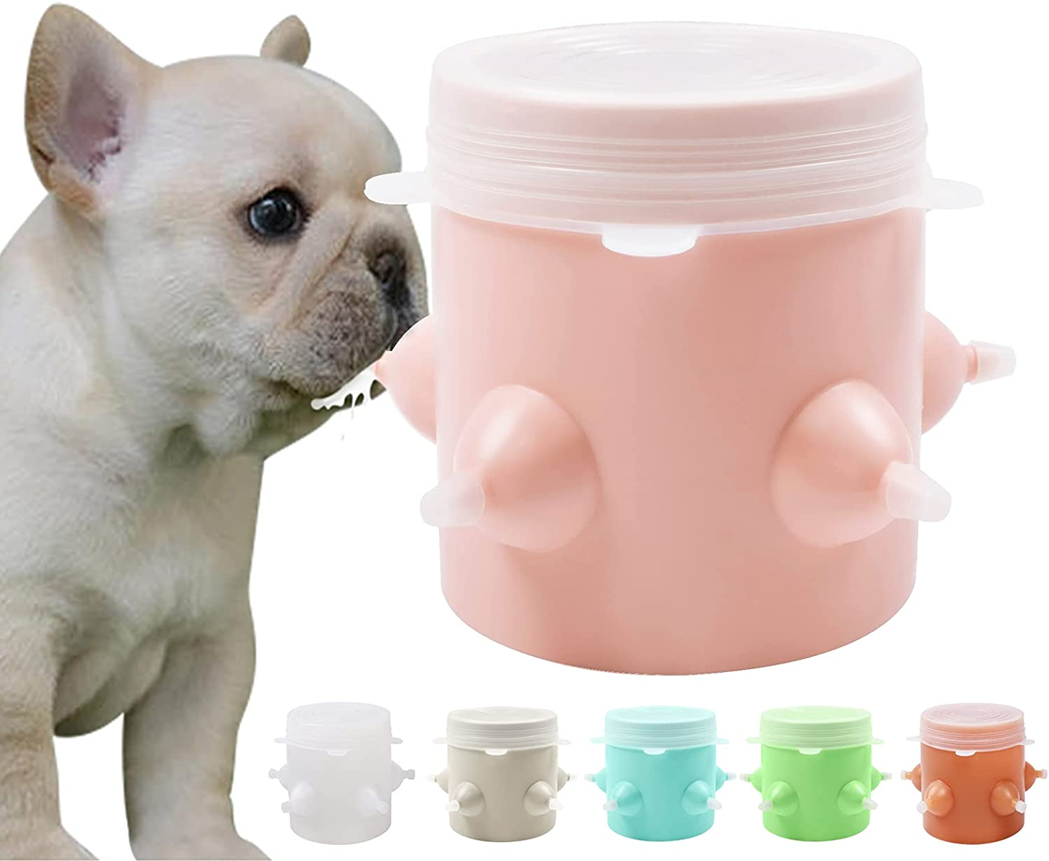 LONNAIKJ 2021 spring and summer new Sale price Silicone Puppies Milk Feeder Feeding Nipples Puppy with