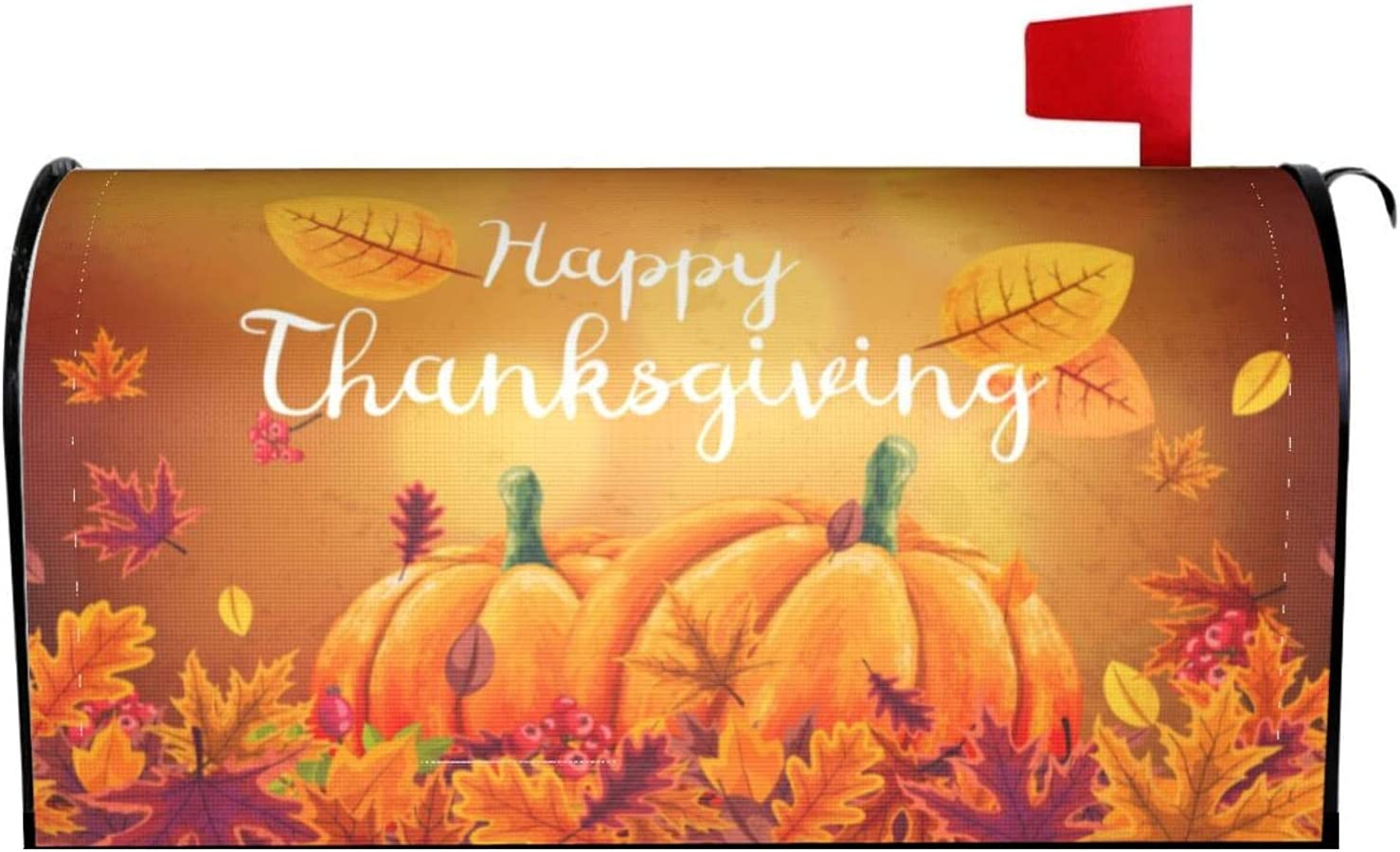 Abucaky Autumn Leaves Mailbox Thanksgiving Max 83% OFF Cover Pumpki Magnetic Spring new work