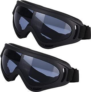 Colore: Trasparente HONGIRT Occhiali da Sci per Moto da Esterno Snowboard Uomo Donna Occhiali da Sci antiappannamento Maschera da Neve Occhiali da Sci Googles da Sci