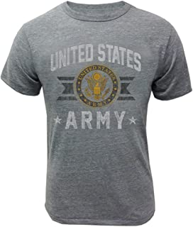 Armed Forces Gear Men's Army Vintage Basic T-Shirt