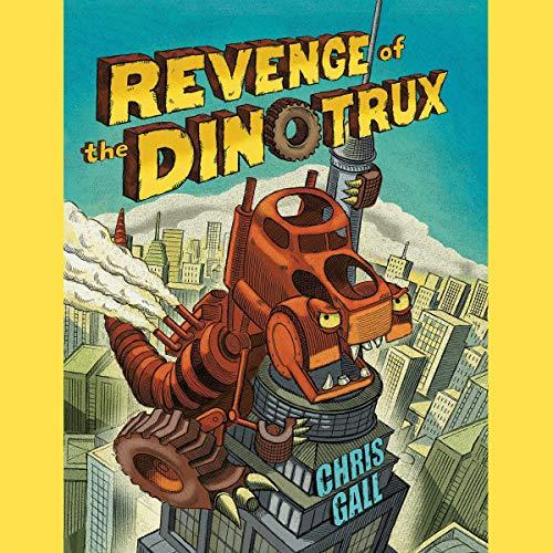 Revenge of the Dinotrux audiobook cover art