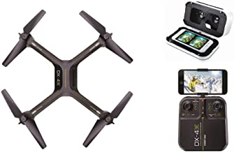Sharper Image Drone DX-4 HD Video Streaming Drone with Virtual Reality Smartphone Headset