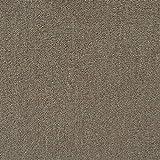 All American Carpet Tile Bravo 23.5 x 23.5 Easy to Install Do It Yourself Peel and Stick Carpet Tile Squares – 9 Tiles Per Carton – 34.52 Square Feet Per Carton (Sandstorm)