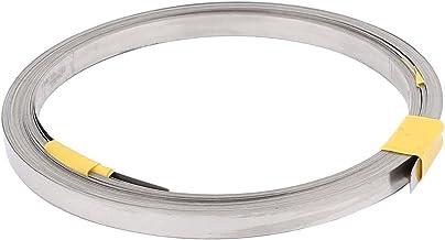 sourcingmap® 10M 32,8pies 0,2x6mm Cable calefactor plana nicromio para elementos de calefacción