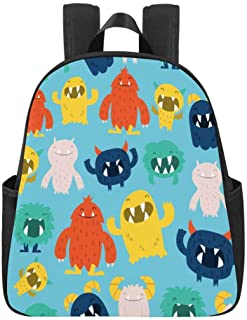 Cute Cats with Glasses Kids Backpack Schoolbag for Teenagers Back to School