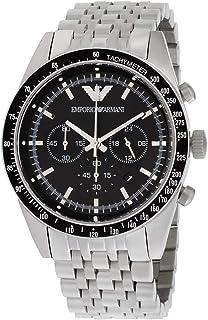 Emporio Armani Sportivo Black Dial Stainless Steel Men's Watch AR5988