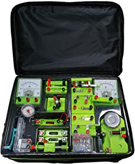 STEM Physics Class Physics Science Basic Circuit Electronics Exploration Kit Electricity and Magnetism Experiment for Kids Junior Senior High School Students Electromagnetism Elementary Electrical