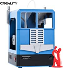 Creality 3D Printer, CR-100 Mini 3D Pringting kit for Kids, 100x100x80mm Build Plate with Auto Leveling, Fully Assembled, Infrared Remote Control, Free MicroSD Card Preloaded with Printable 3D Models