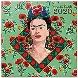 Erik CP20043 - Calendario de Pared 2020 Frida Kahlo, 30 x 30 cm...