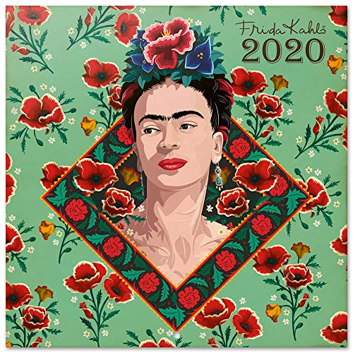Erik CP20043 - Calendario de Pared 2020 Frida Kahlo, 30 x 30 cm