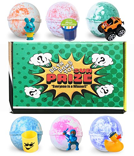 Bath Bombs for Kids, 6 Kids Bath Bombs with Surprise...